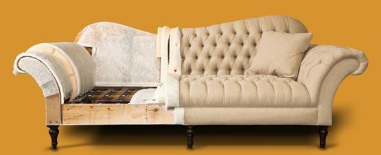 перетяжка мягкой мебели, замена обивки
